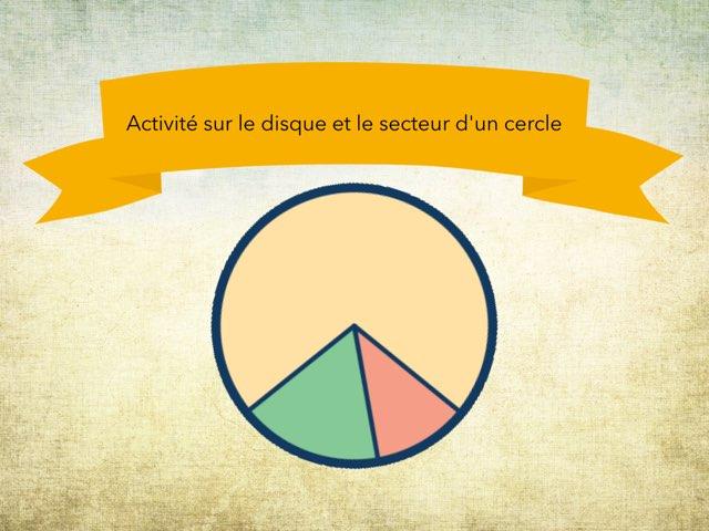 Activité Sur Le Disque Et Le Secteur by Andrei Cleary