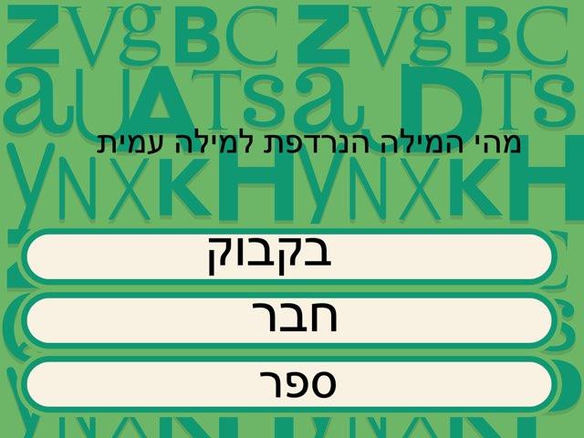 משחק 7 מעיין by Netaaya Schwartz