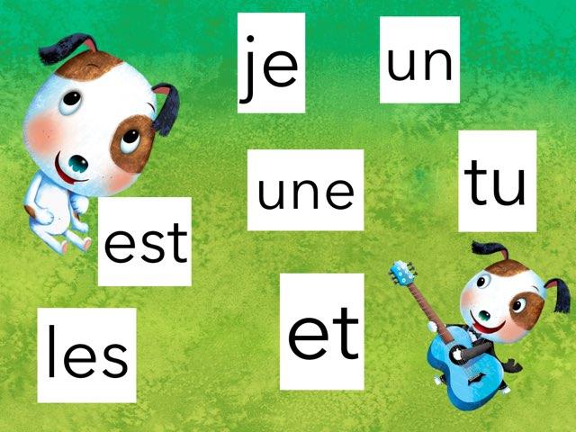 Lecture de petits mots fréquents by Marie-Claude GR