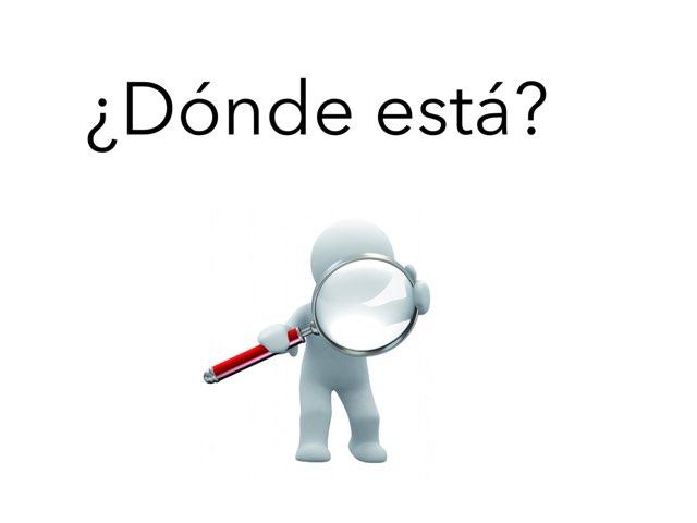 ¿Dónde Está? by Alba Calvo Simo