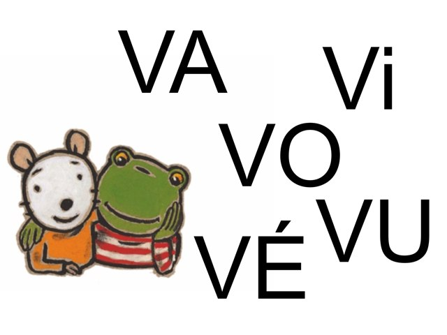 Cherche VA Vi VO VU VÉ by Valerie Escalpade