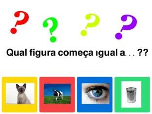 Jogo de Aliteração Igual by Tati Barrozo