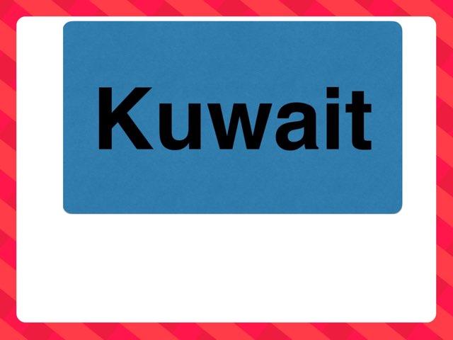 كلمة Kuwait by fajer alhammadi