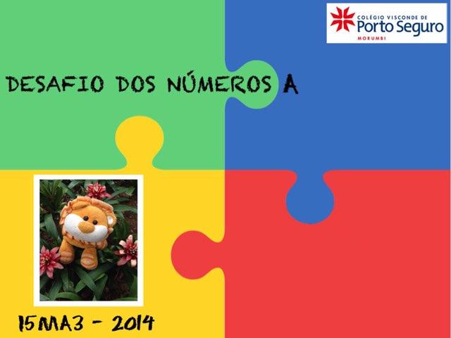 Desafio Dos Números A - I5MA3 by TecEduc Porto