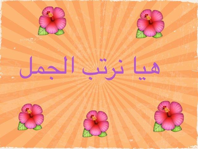 ترتيب الكلمات في جمل by afnan gh