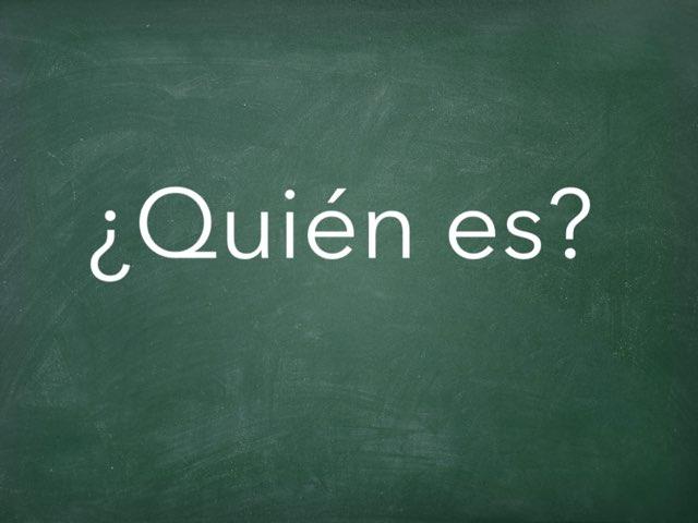 ¿Quién es? by Juan  Fernández