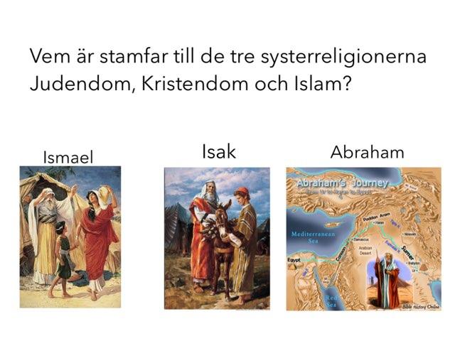 Test: De Abrahamitiska Religionerna År 3 by Ullis Hinders Strömberg