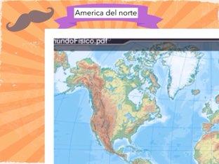 América del norte by Irene hidalgo