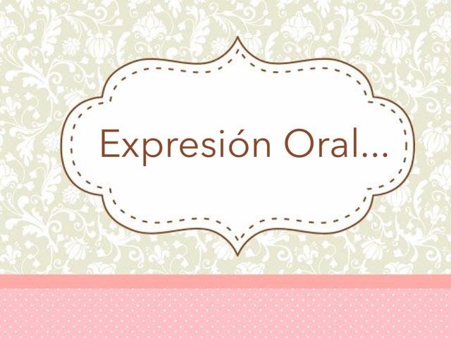 Expresión Oral by Zoila Masaveu