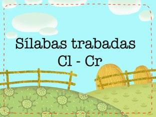 Sílabas Trabadas (Cl-Cr) by iPad Cart
