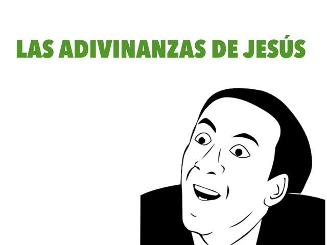 Las Adivinanzas de Jesús by Diego Campos