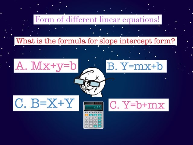 Linear Equations  by Jacqueline Pleitez