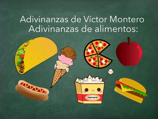 Las Adivinanzas De Víctor Montero by Diego Campos