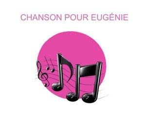CHANSON POUR EUGÉNiE by Valerie Escalpade