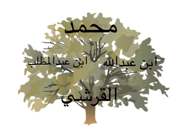نسب رسولي محمد by Abla Bashayer