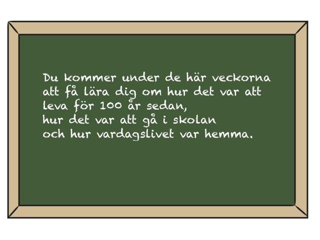 LPP Förr Och Nu by Malin bennet