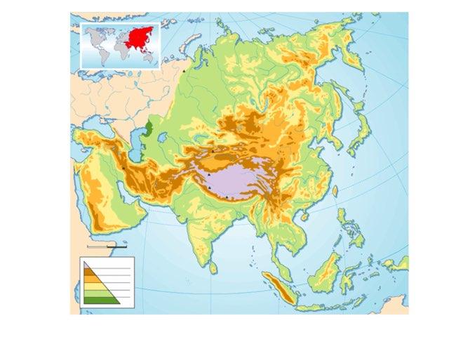 Asia Geografía  by SAMUEL Franco REQUEJO