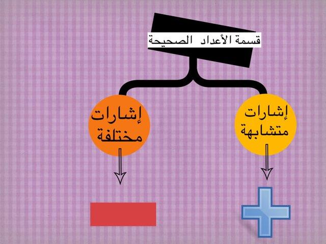 قسمة الأعداد الصحيحة by Am Aida