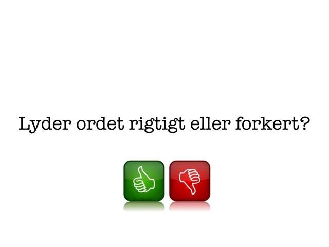 Stopping f>b Forøvelse by Katrine Klim
