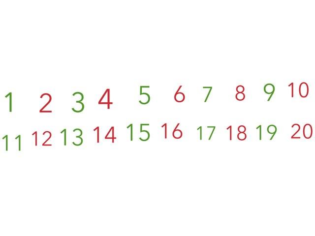 Números de 1 a 25 by Mariela Triana