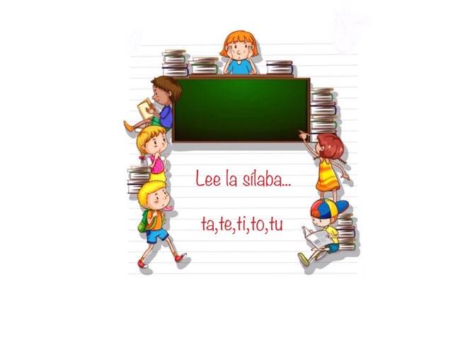 Lee La Sílaba (ta,te,ti,to,tú) by Zoila Masaveu