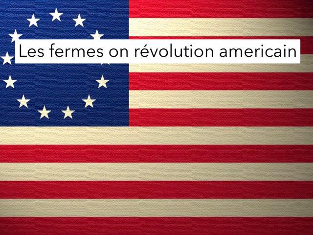 Revolution Américain  by Mohamed Baji