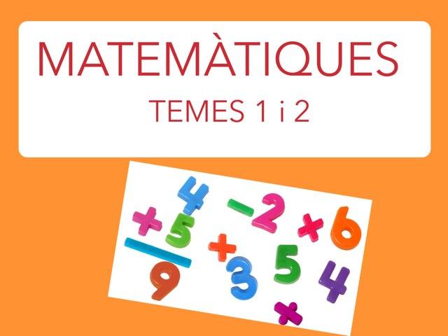 Mates 1primària by Joan Esbrí