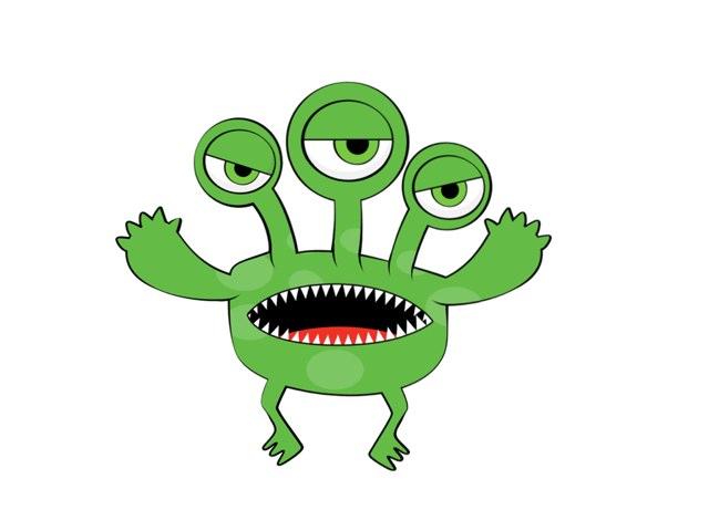 Find det grønne monster by Eva Nielsen