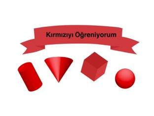 Kırmızıyı Öğreniyorum by Victoria Kruglova