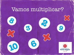 Jogo de multiplicação  by Bianca Gorgulho