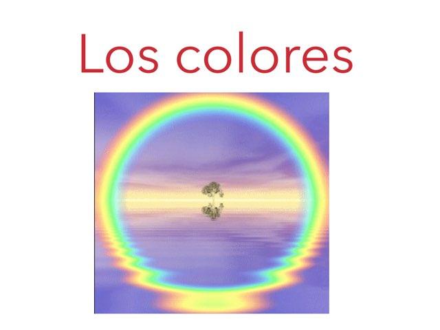 Los Colores Para Niños by Alba Calvo Simo