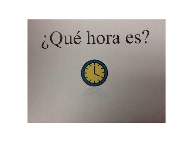 ¿Qué Hora Es? Salter by heritage WL