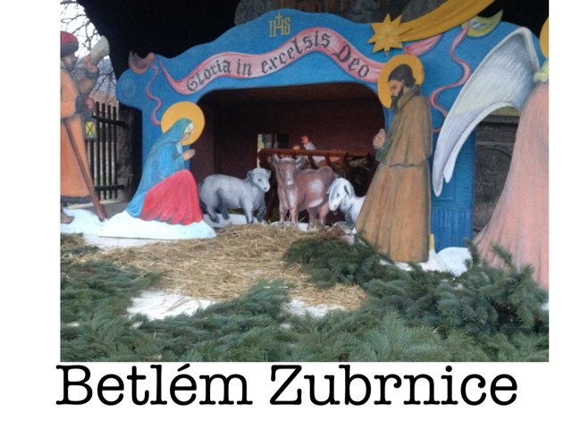 Vánoce v Zubrnicích by Ivanka Nováková