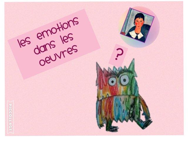 Les émotions dans les oeuvres d'art by Emmanuelle Botta