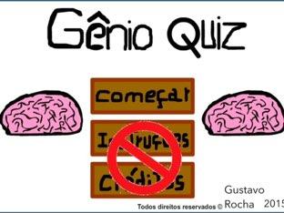 Gênio Quiz  by Gustavo Azevedo