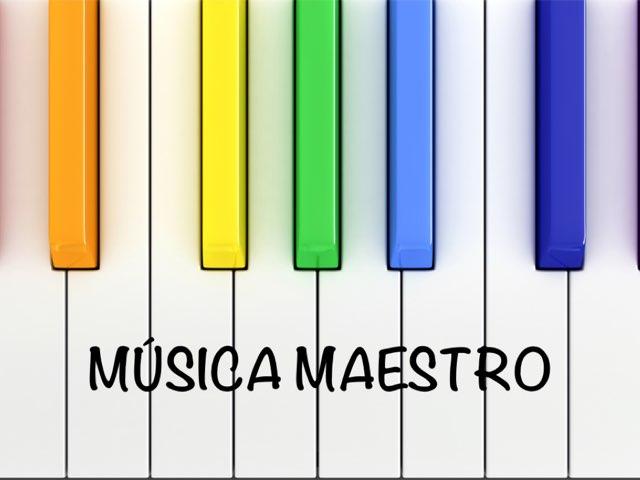 Música Maestro by Sara GarFer