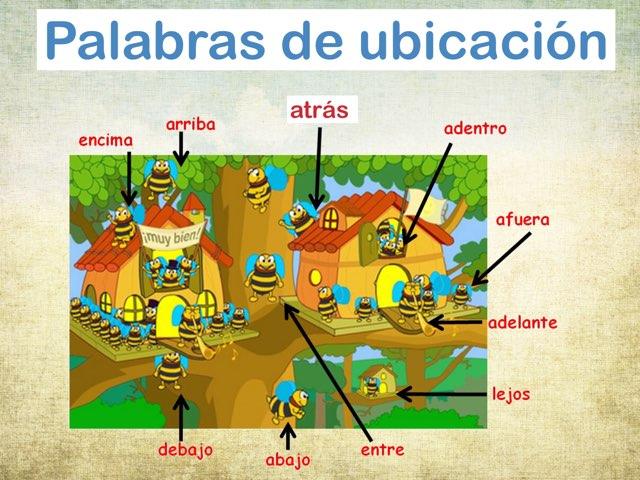 Ubicación/Position Words by Rosalva Correa