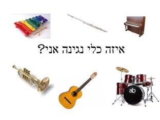 איזה כלי נגינה אני? by Noa Shadmi
