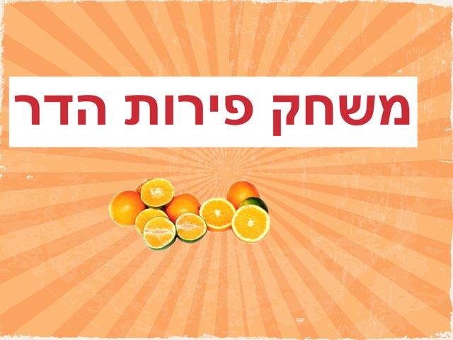פירות הדר by אפרת בן ארי