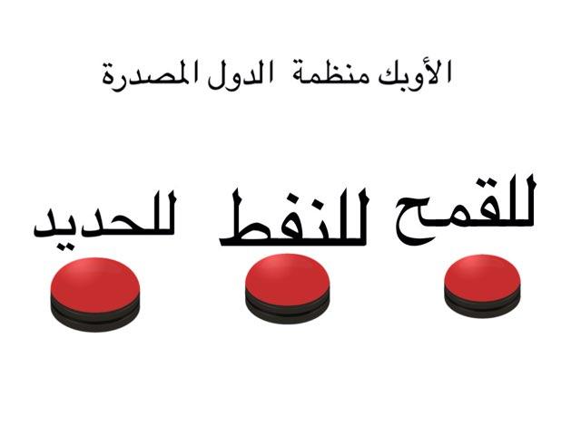 المنظمات الاقتصادية الإقليمية by Saud Aldossri