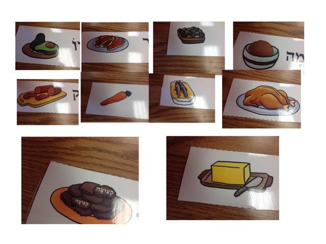 מאכלים של אברהם by 2nd Grade