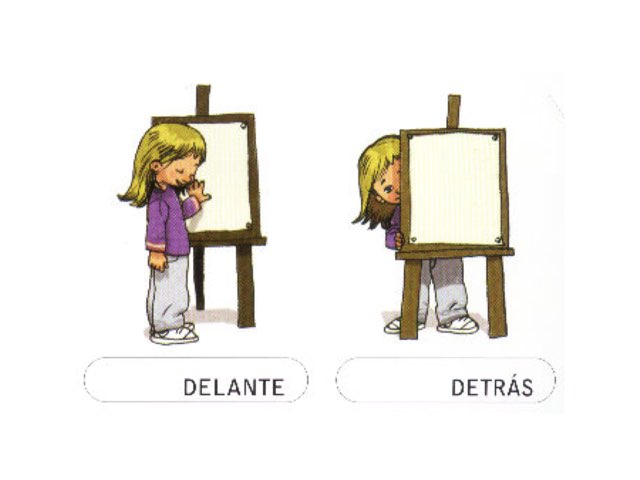 Conceptos Básicos Delante-detrás  by Quino Asensio