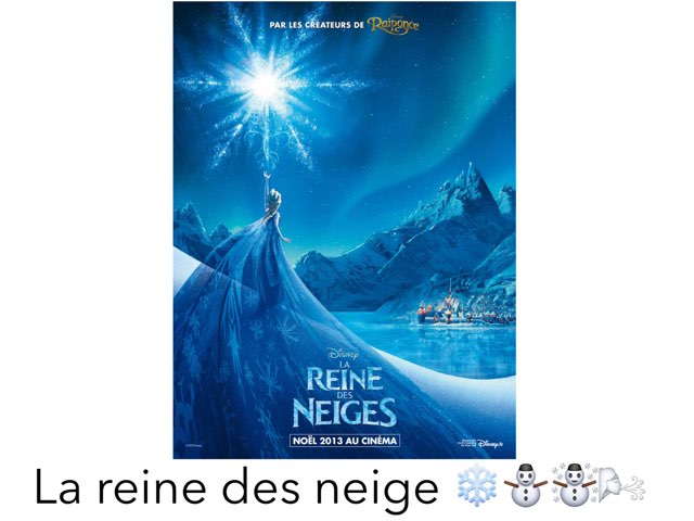 La Reine Des Neiges ❄️ by Marion Durand