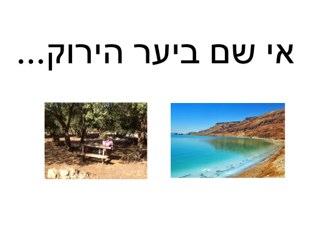 יעל משחק טיול ליער by Yael Kaplan