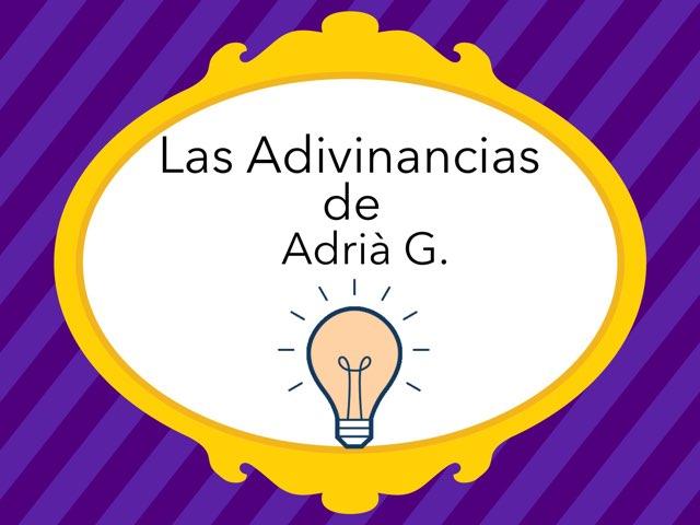 Las Adivinanzas De Adrià by Diego Campos