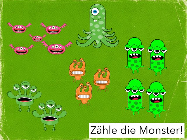 Monster Zählen by Gerd Heindl