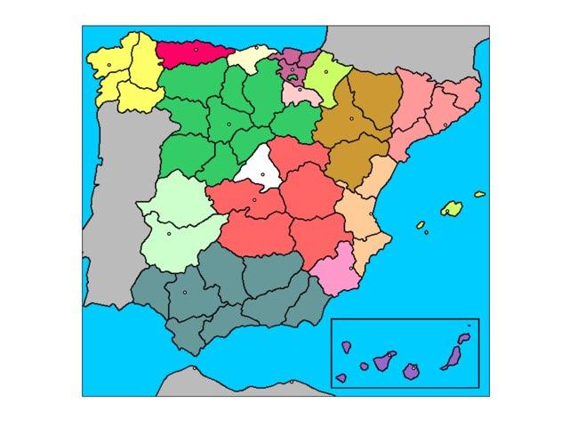 Provincias españolas  by Sevilla Fc
