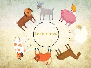 איפה החיות? by Gan  RMN