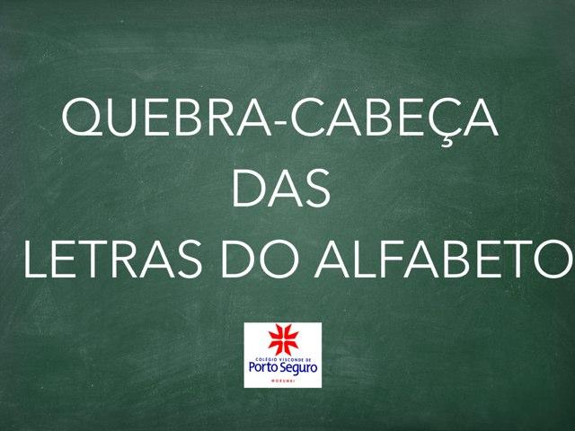QUEBRA-CABEÇA DAS LETRAS by TecEduc Porto