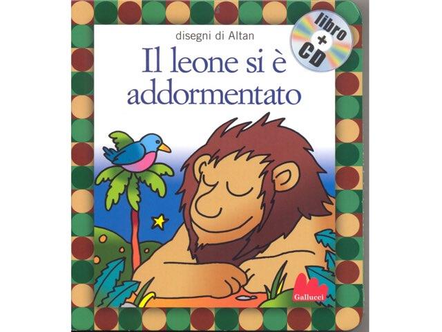 Il leone si è addormentato by Riccardo Caroppo